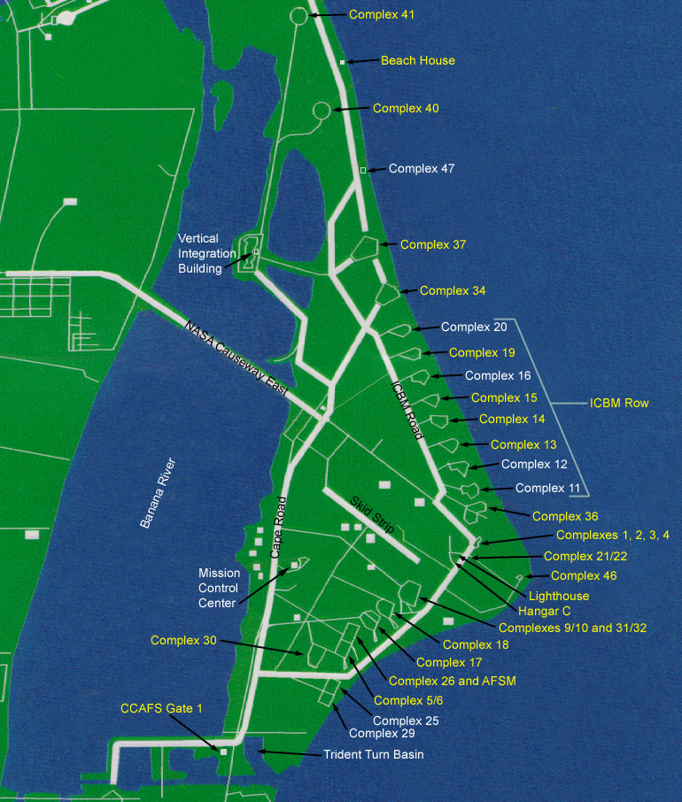 Cape Canaveral Air Force Station on